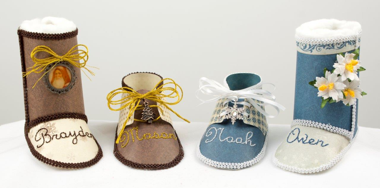Holiday Baby Shoe Ornaments » Pion Design's Blog