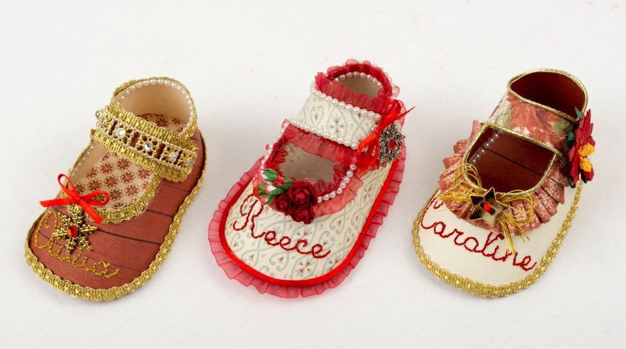 b206f1d2c391d Holiday Baby Shoe Ornaments » Pion Design's Blog