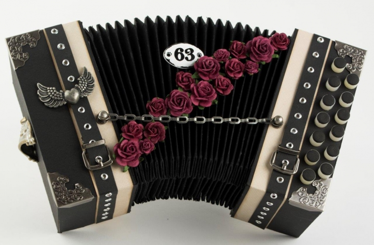 Steampunk Accordion Tara Brown