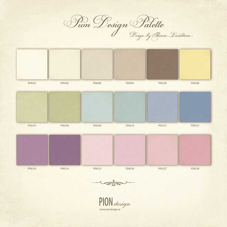 Pion Design Palette - PD6100