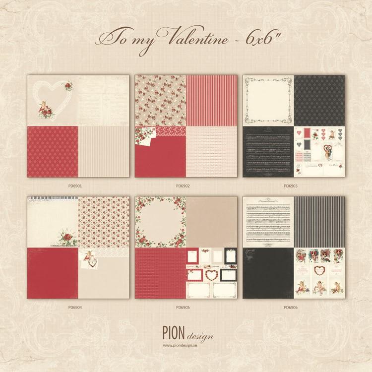 To my Valentine 6x6 - PD6900