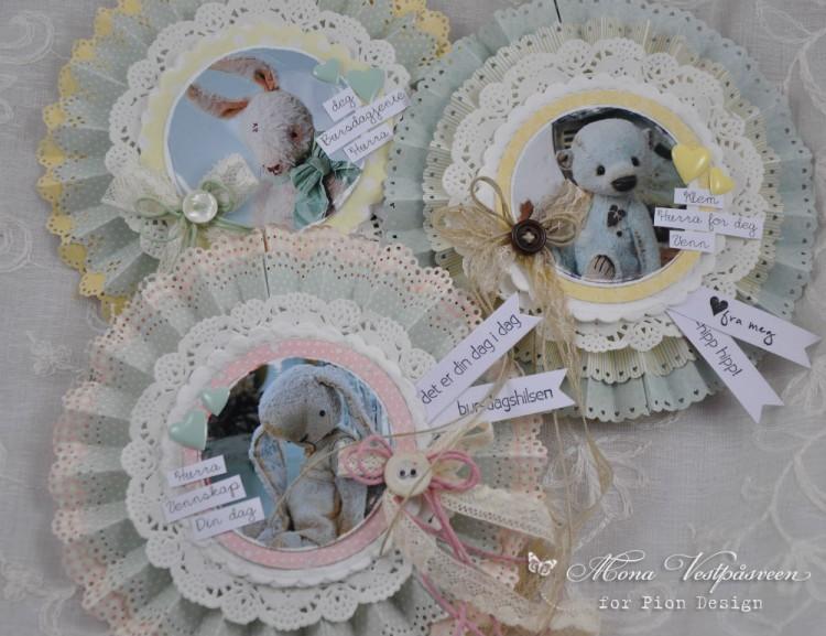 12 X 12 Spring fairies Pion Design Easter Greetings