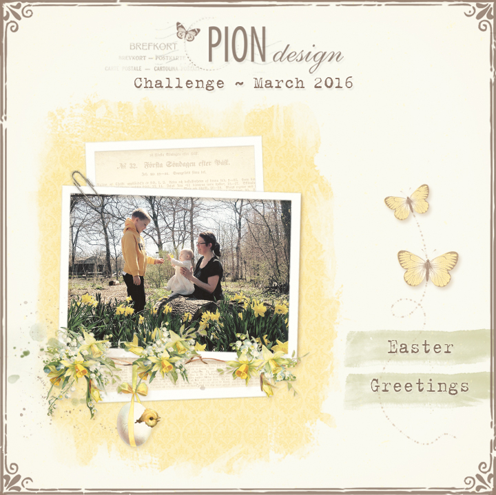 pion challenge march 2016