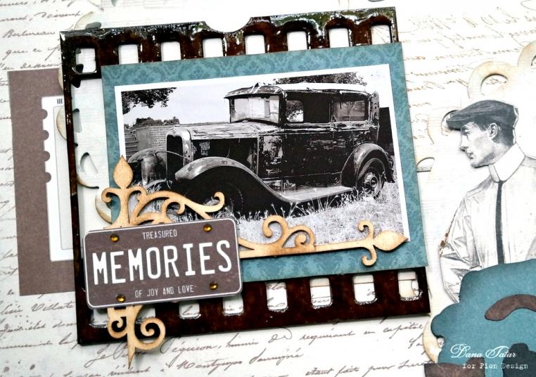 Treasured Memories by Dana Tatar for Pion Design