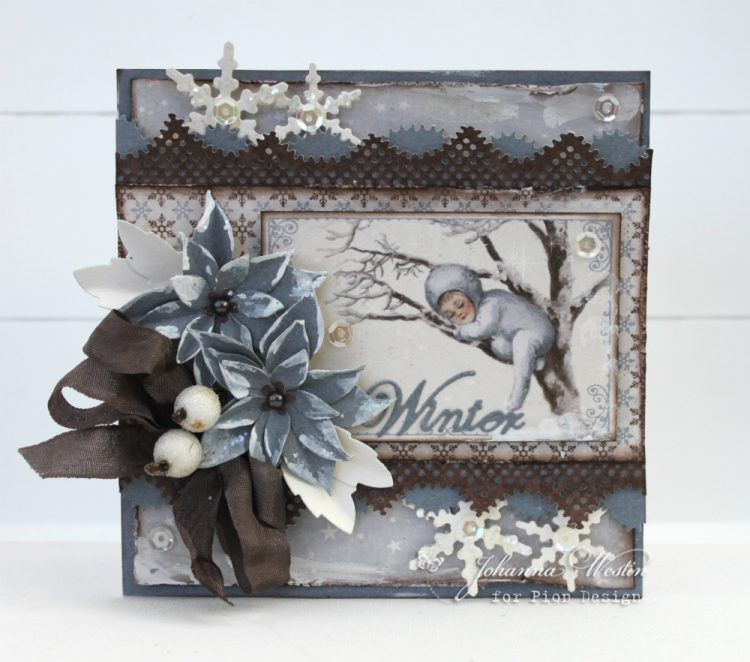 Greetings from the north pole pion designs blog hello johanna here with a card from the new gorgeous collection from pion design greetings from the north pole have a great day m4hsunfo
