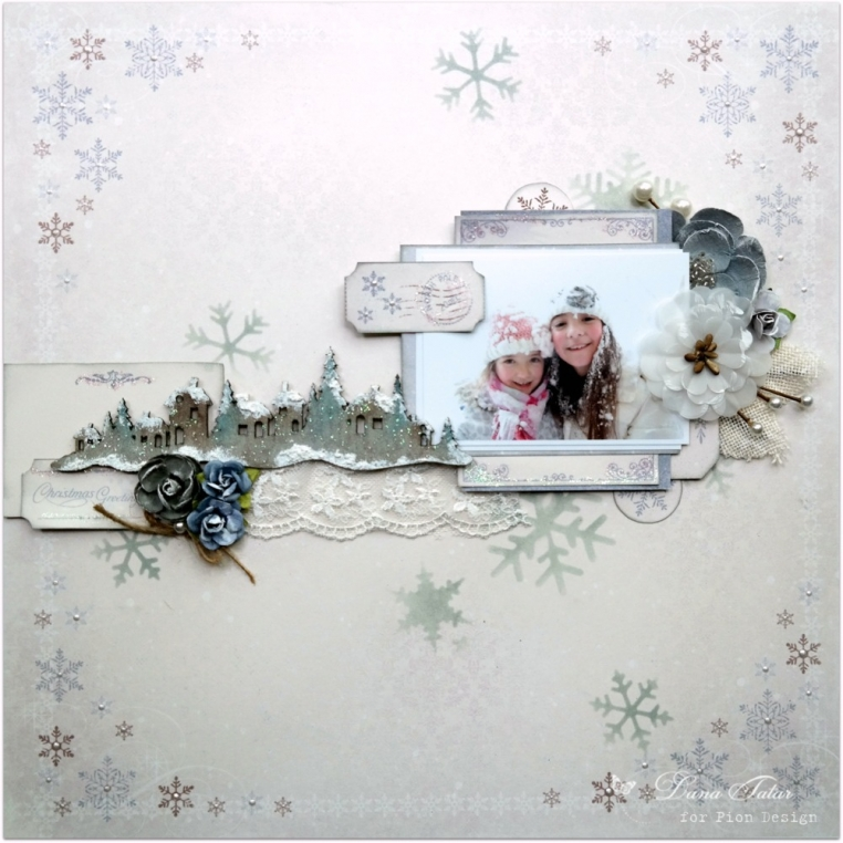 Christmas Greetings by Dana Tatar for Pion Design