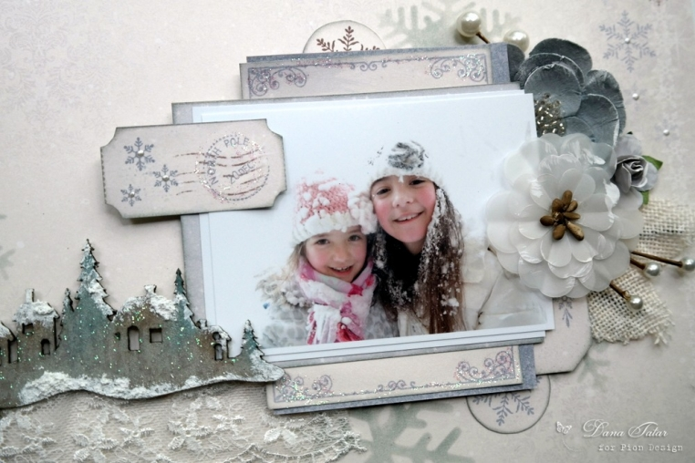 Christmas Greetings Closeup by Dana Tatar for Pion Design